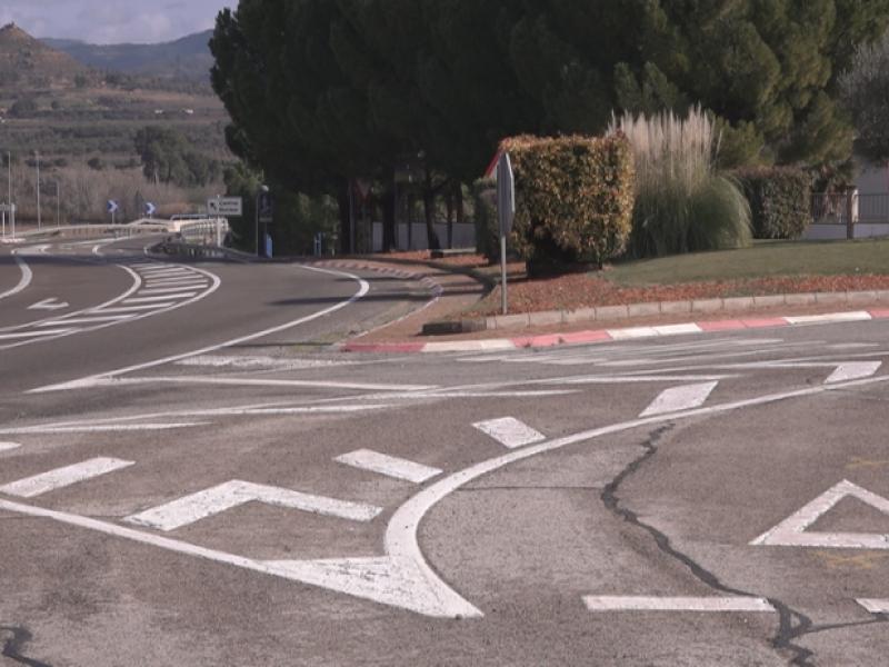 Dirigim les obres per a la construcció d'una rotonda a Ascó