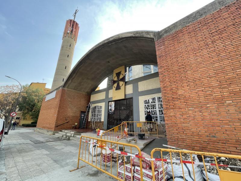 La Parròquia de Sant Bernat Calvó en la recta final de les seves obres