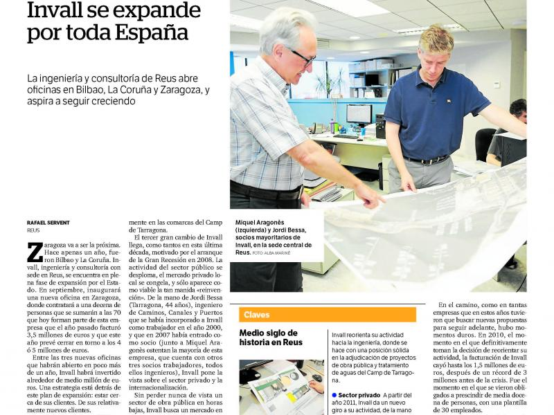 Invall expands into Spain